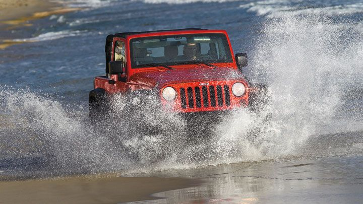 Jeep Wrangler Rubicon Shown In Flame Red Jeep Wrangler Rubicon Jeep Jeep Wrangler