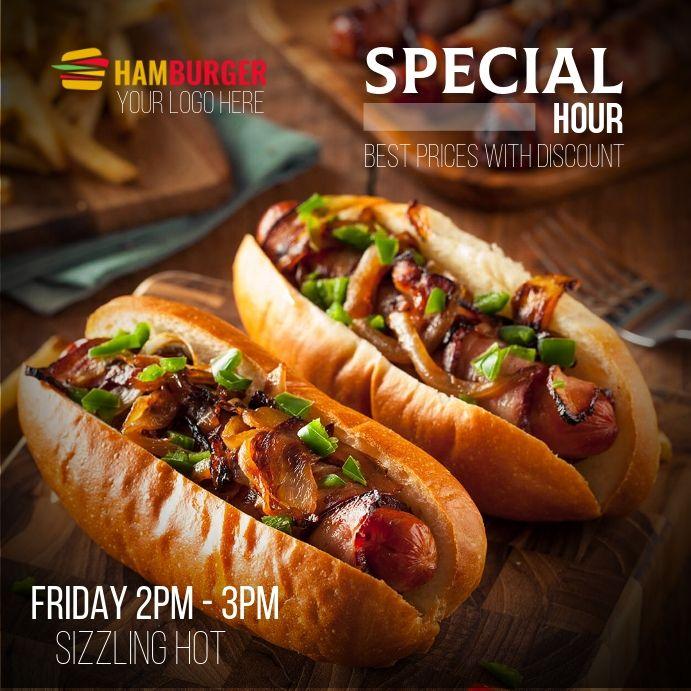 Photo of Hotdog Menu Flyer