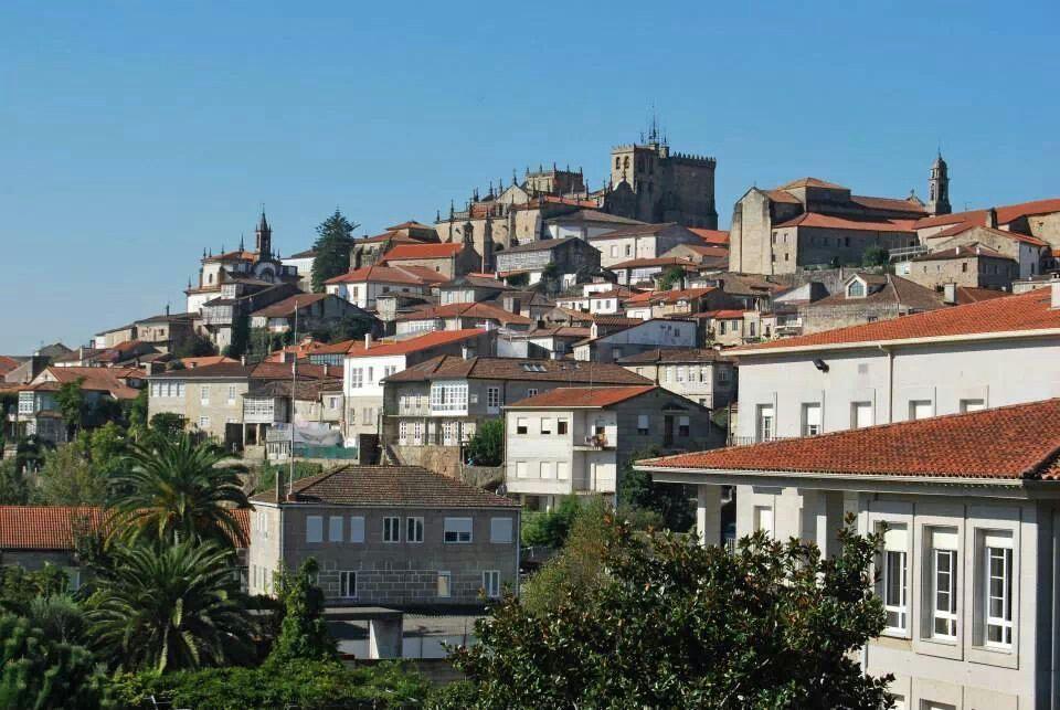 Camino Portugues. Tui (Pontevedra)