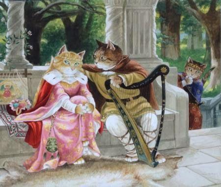 Susan Herbert Cats illustration