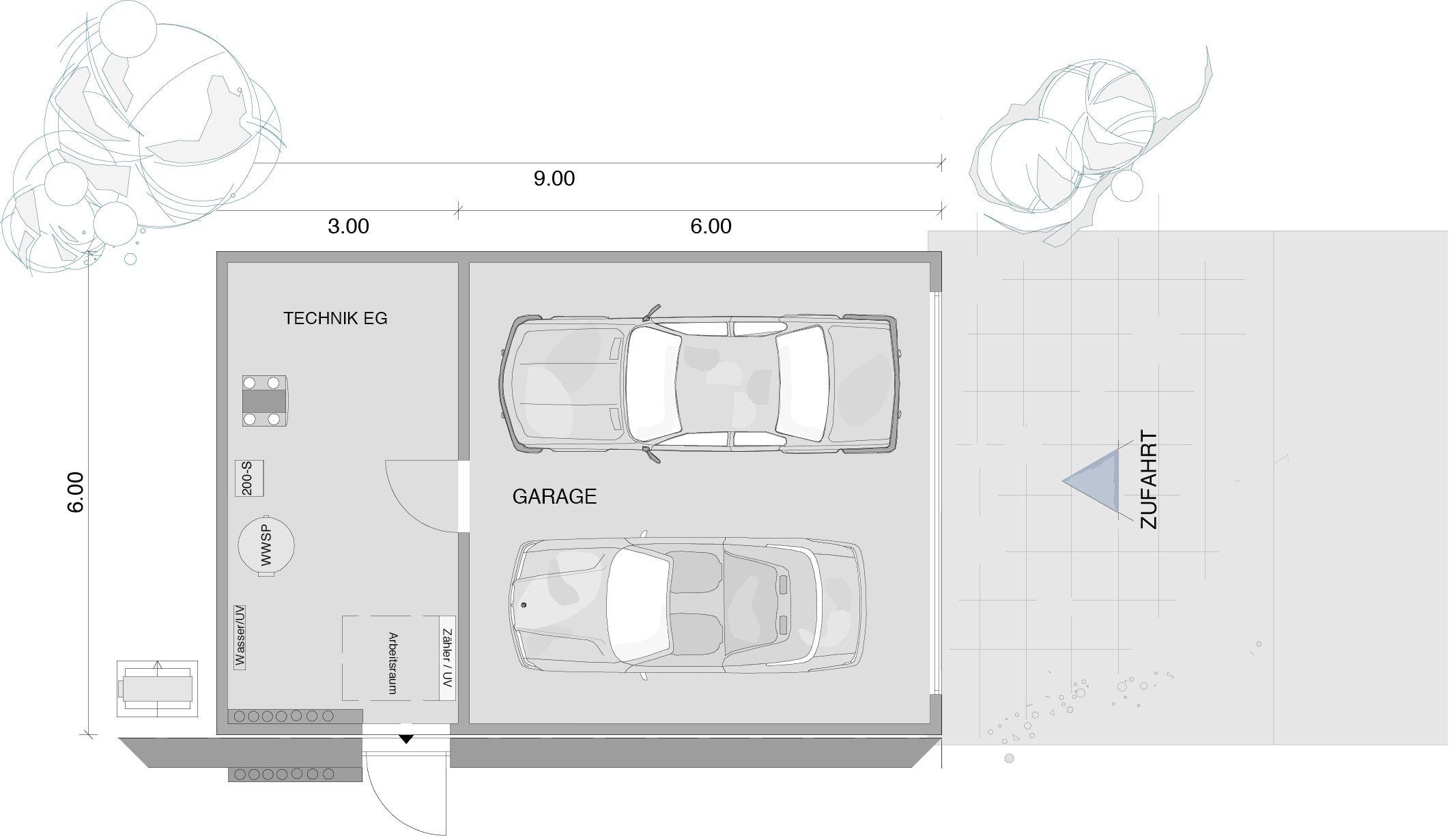 Fertiggarage grundriss  Fertighaus bauen, Fertighäuser von KAMPA | Pinterest | Garage ...
