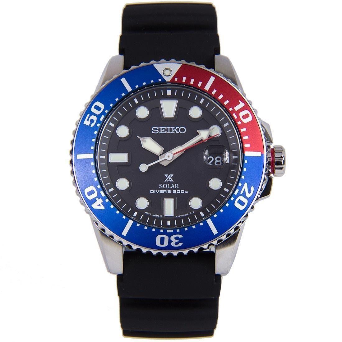 Seiko Sne439p1 Sne439 Sne439p Solar Watch Like Srpb01 Order Original Prospex Diver Stainless Steel Free Fast Shipping To Usa Canada Australia New Zealand Singapore Hong Kong Japan