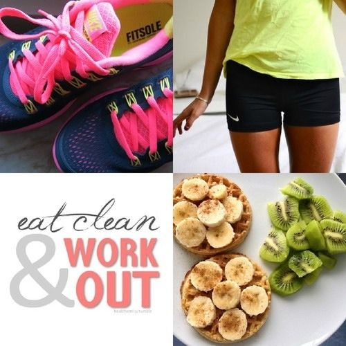 Eat clean and work out quotes fitness workout goal healthy lifestyle new year resolution