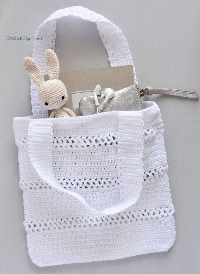 Happy to share a White Lace bag pattern | Crochet Bags | Pinterest ...