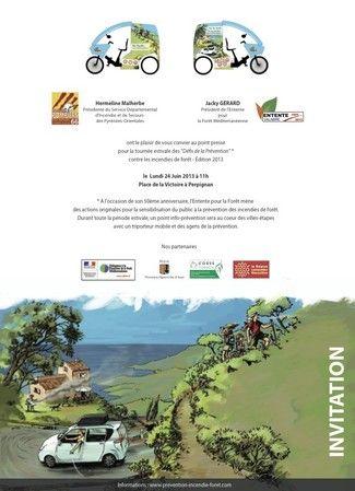 Prévention des incendies de forêt. Le lundi 24 juin 2013 à Perpignan.  11H00