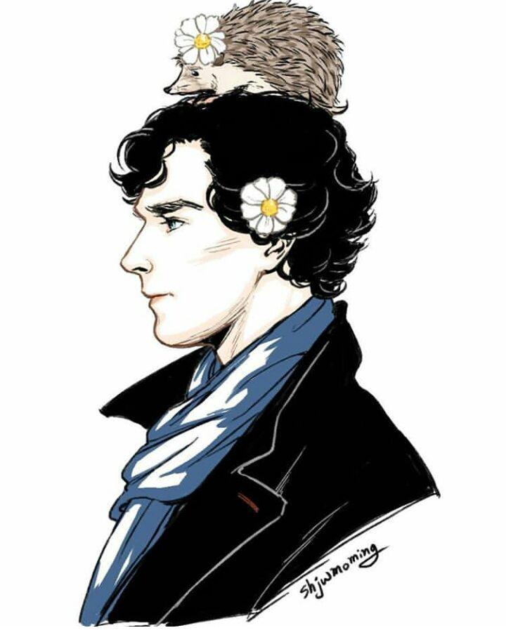 Шерлок холмс картинки арты