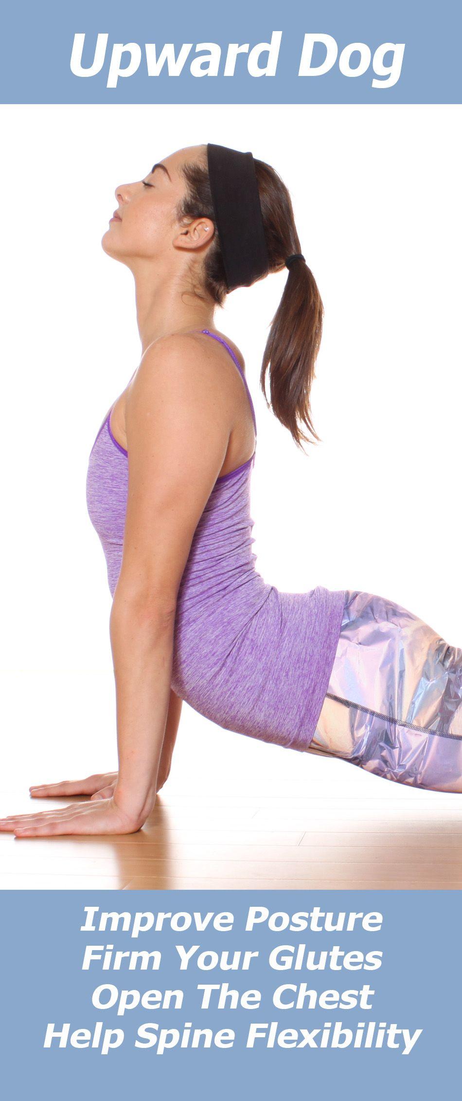 Upward Facing Dog   Popular yoga poses, Online yoga videos ...