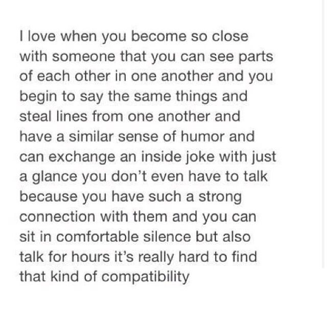 I love when you become so close with someone that you can see parts of each other in one another and you begin… | Dear best friend letters ...