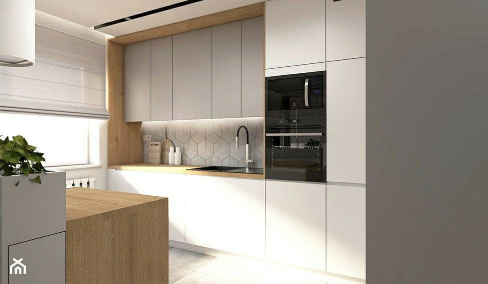 Pin By Bogumil Rzasa On Kuchnie Scandinavian Home Kitchen Kitchen Cabinets