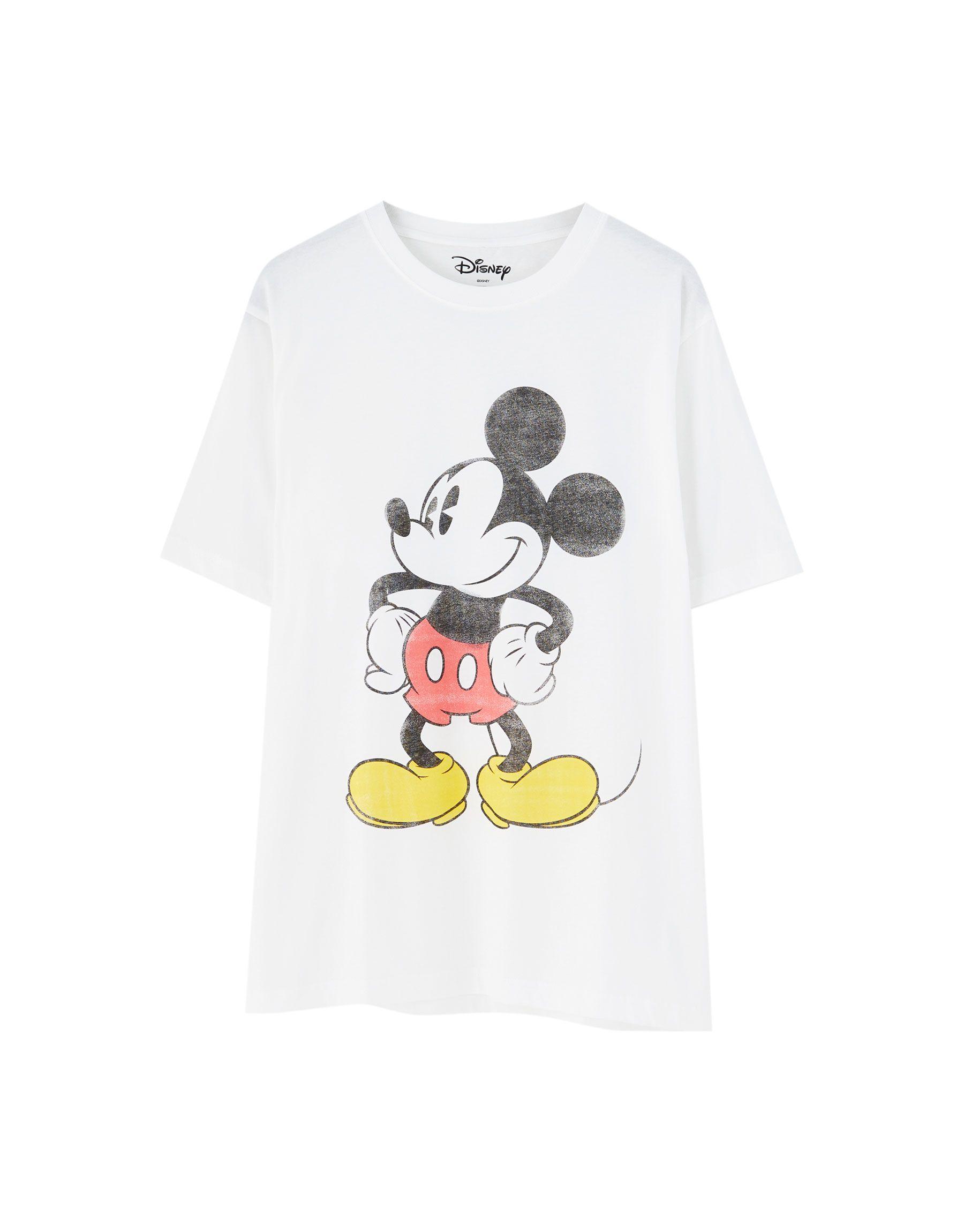 Para estrenar 791d5 b6dfa Camiseta Mickey Mouse básica   Products in 2019   Mens tops ...