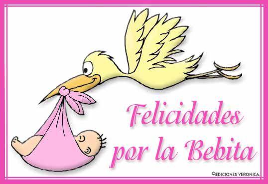 Felicitaciones Por La Llegada De Un Bebé Para Facebook