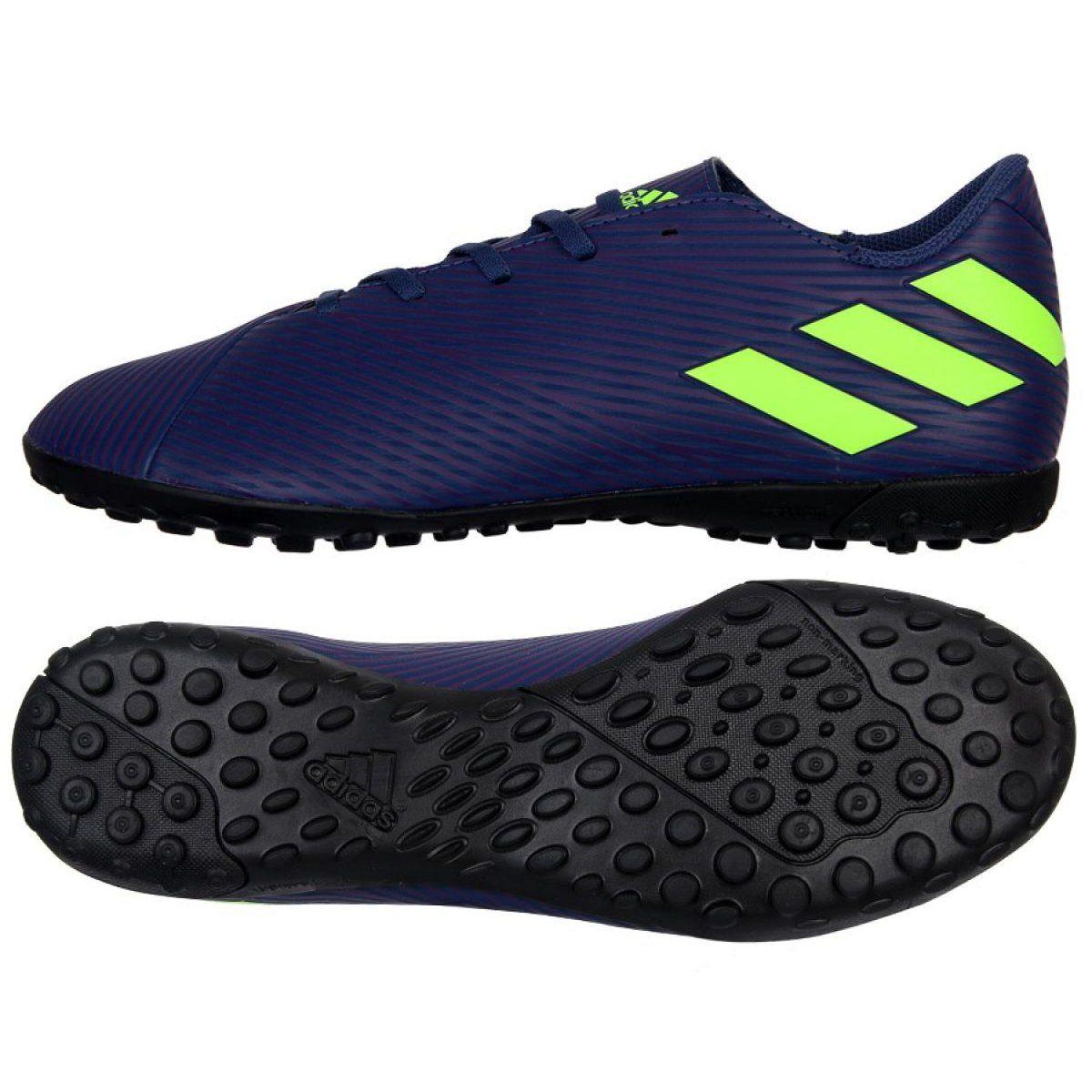 Buty adidas Nemeziz Messi 19.4 Tf M EF1805 granatowe