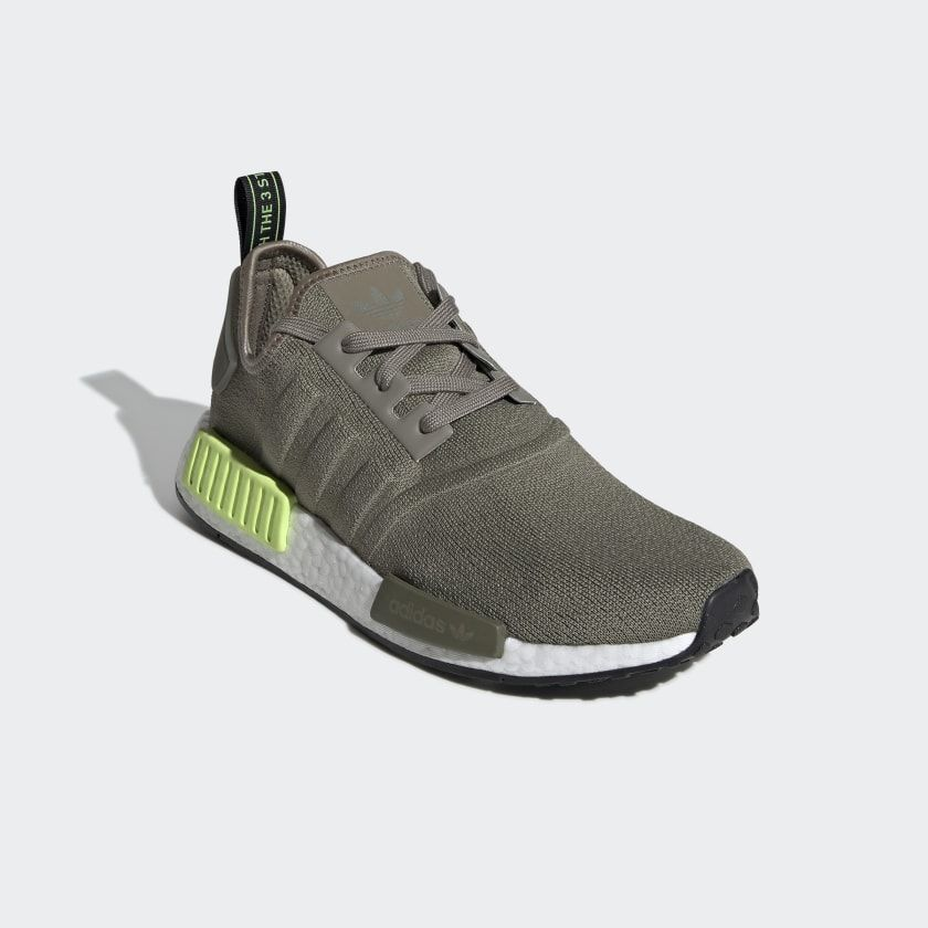 NMD_R1 Shoes Trace Cargo / Trace Cargo / Solar Yellow BD7750   Nmd ...