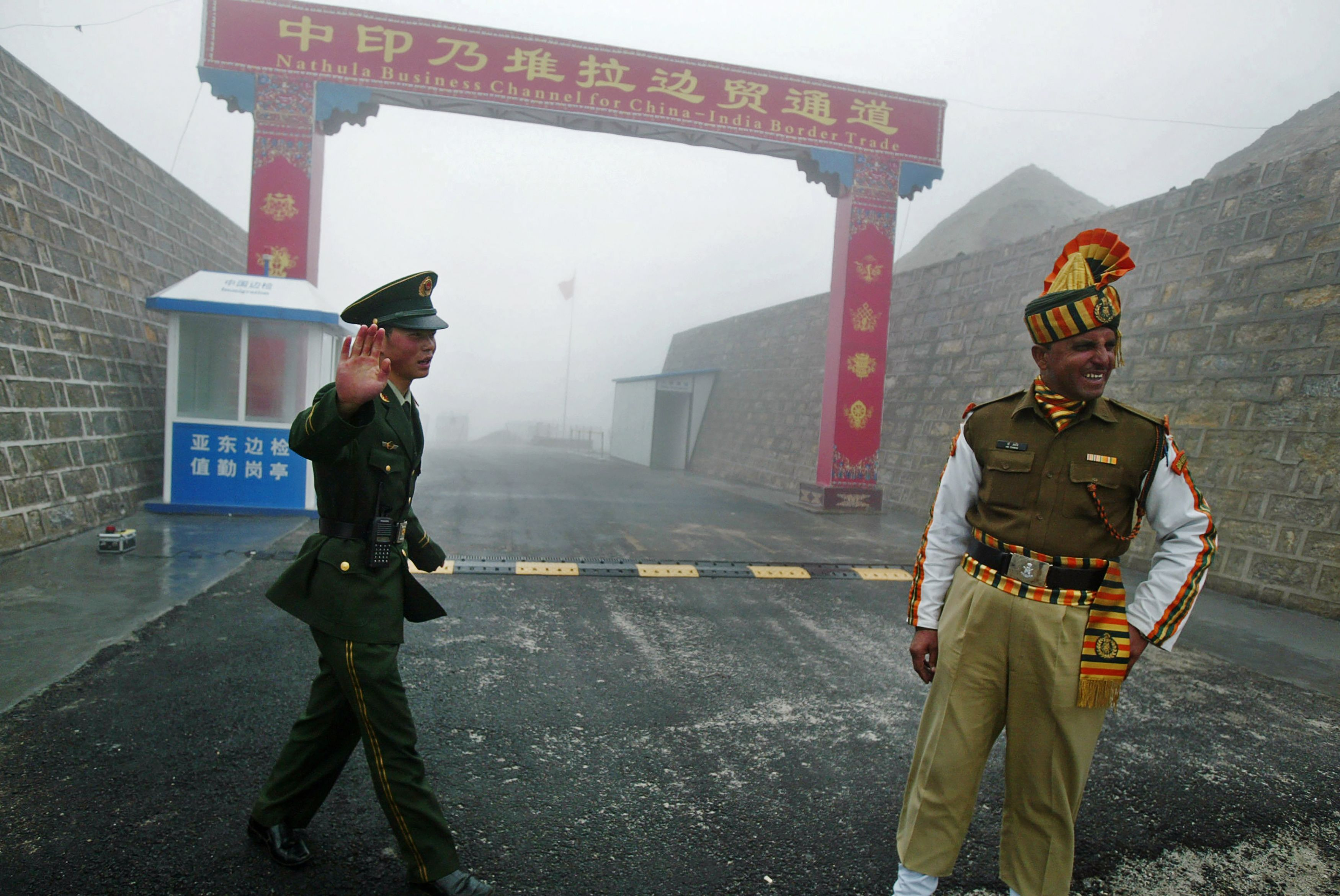 China Pushes Hard In Border Dispute With India Indian Army
