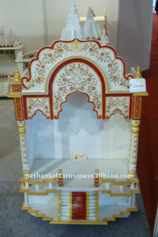 #indoor Home Temples, #carved Marble Mandir, #white Marble Temple For Home