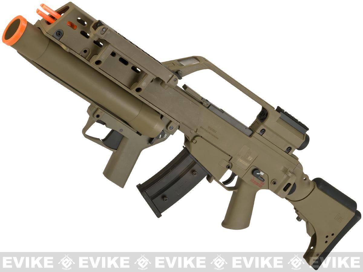 Evike Class I Custom H&K G36KV / AG36 Grenadier Airsoft AEG