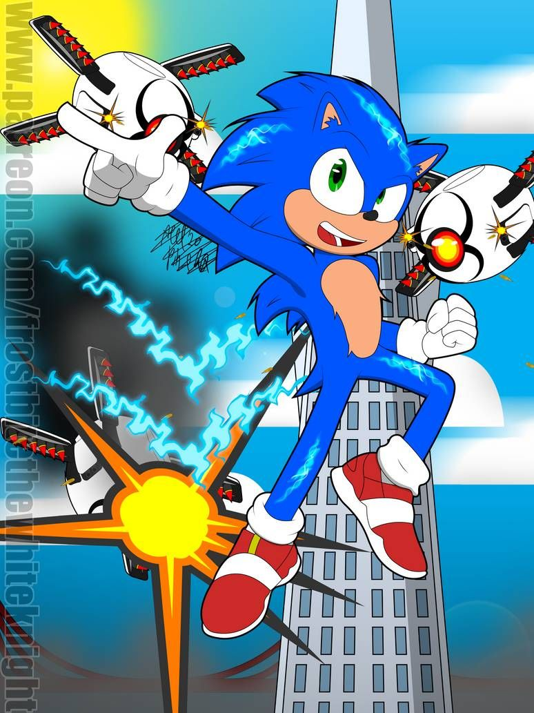 Sonic The Hedgehog 2020 By Frostbitewhiteknight On Deviantart In 2020 Sonic The Hedgehog Sonic Hedgehog