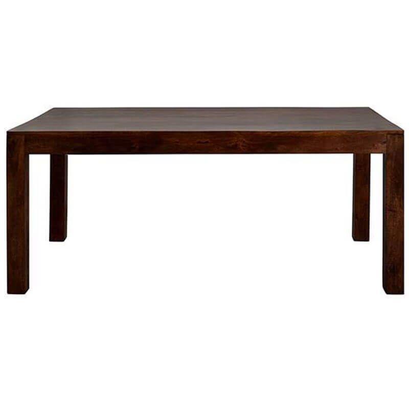 Toko Dakota Dark Mango Large Dining Table 6ft 180cm Solid Wood