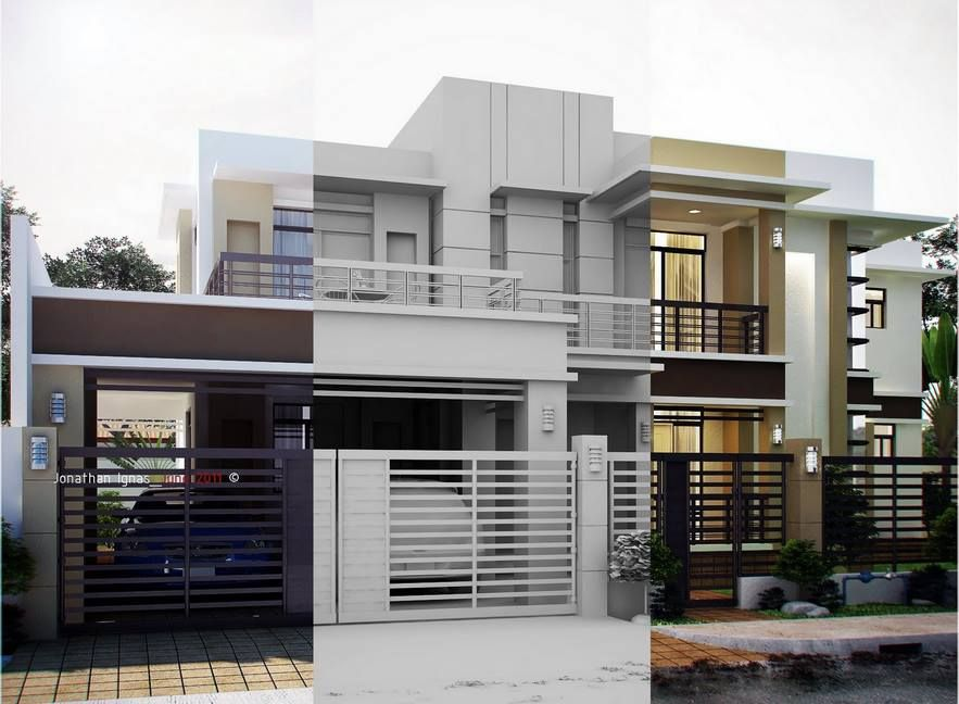 Modern residential houses pictures