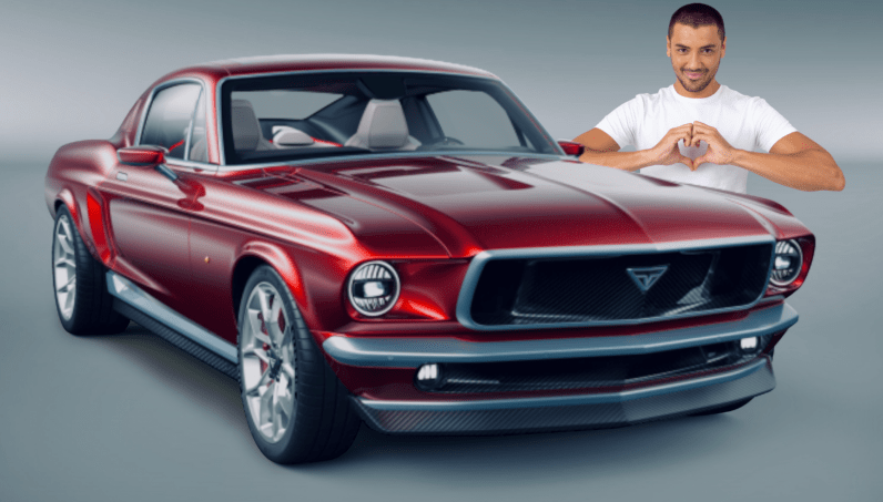 The Perfect All Electric Ford Mustang Is Actually A Souped Up Tesla Ford Mustang Mustang Ford