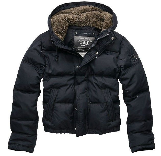 Abercrombie & Fitch Black Friday Mens Down Jacket Black X070676