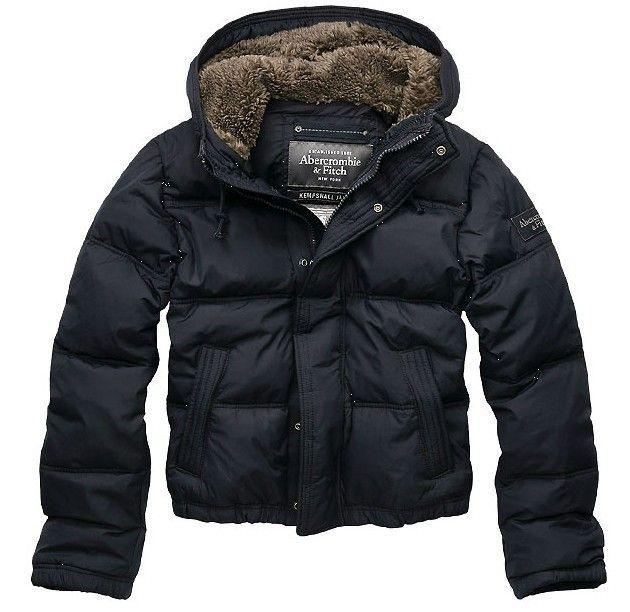 Abercrombie & Fitch Black Friday Mens Down Jacket Black X070676