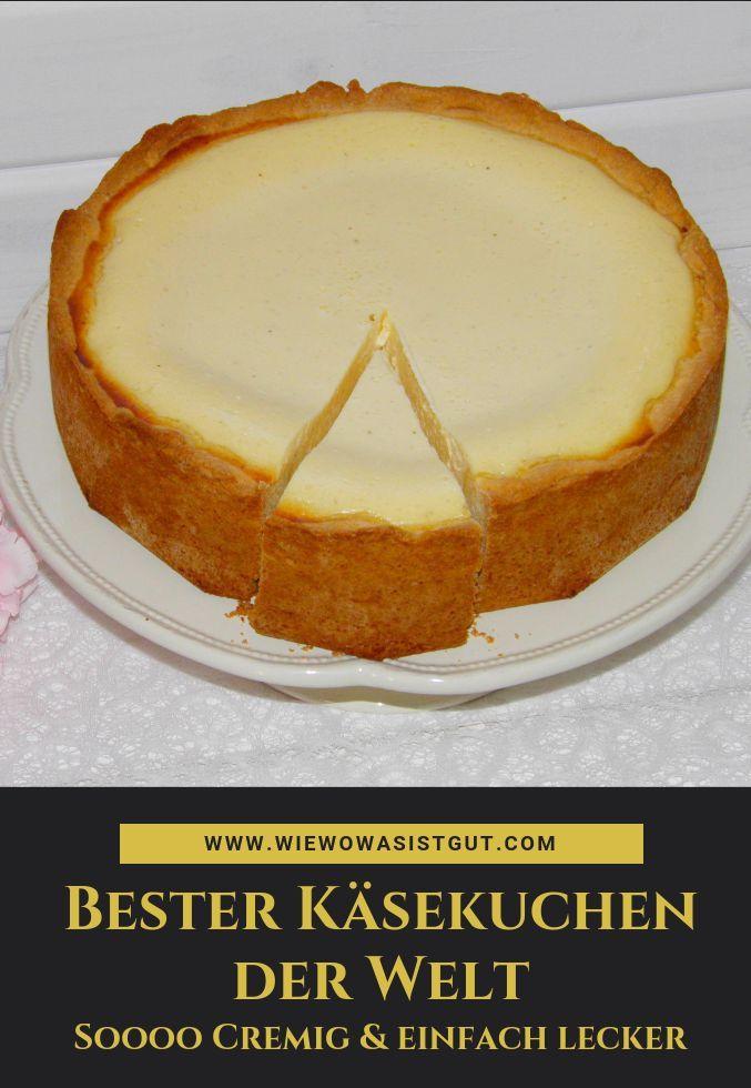 Bester Käsekuchen der Welt: reißt nicht ein und wird nicht dunkel - wiewowasistgut.com