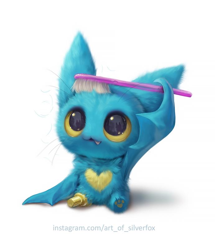 Silverfox On Twitter Cute Monsters Drawings Cute Animal Drawings Kawaii Cute Fantasy Creatures Disegno da colorare di la lettera b sta per bat. cute monsters drawings cute animal