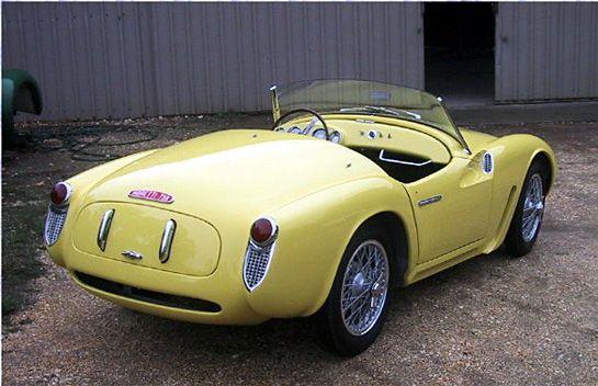 Moretti 750 Barchetta