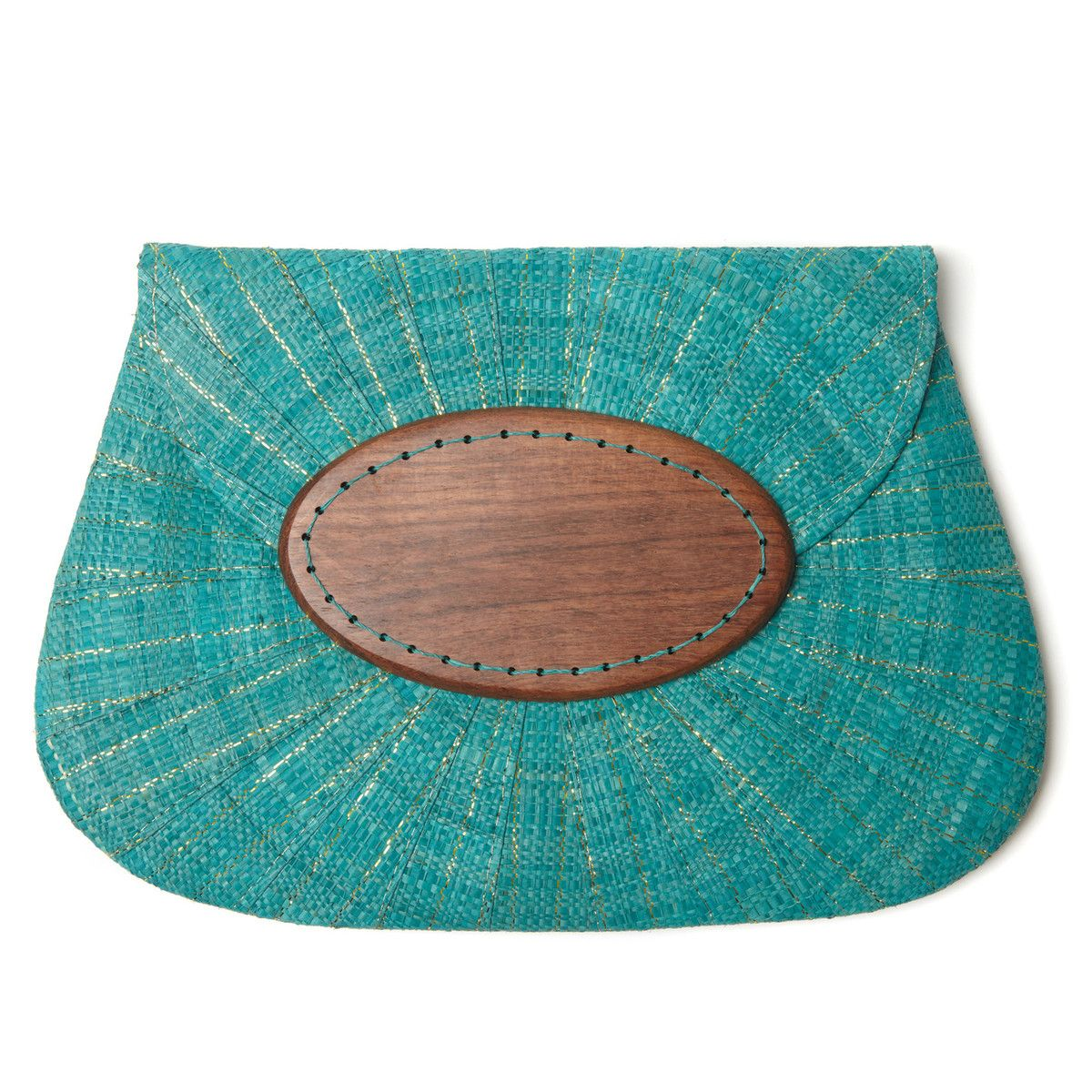 Applique Clutch Opal Aqua by Mar Y Sol
