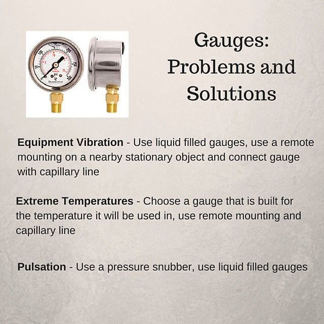 3 things that will kill your pressure gauges.  Take care of your gauges.  Check out the new article on the blog: directmaterial.com/knowledge!  #pressuregauges #industrial #homebrewing #craftbrewing #irrigationsystem #gauges