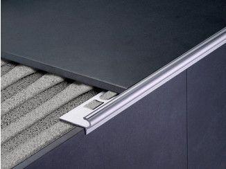 Profili in pvc e metallo per pavimenti e rivestimenti cerfix line profilpas flooring - Angolari per piastrelle ...