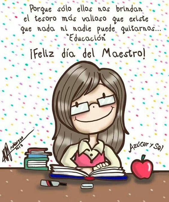 68e59dc7878a54accf4340efc83da158 Dia De Los Maestros Frases