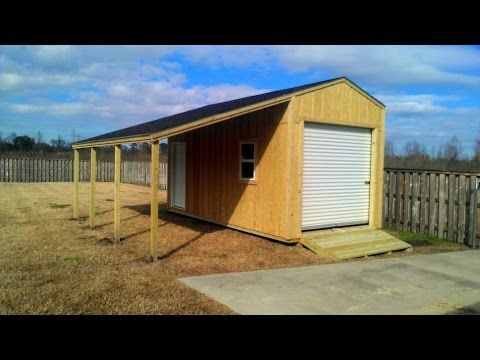 Shed Plans 10x20 Can Be Used To Build A Very Large Storage Shed This Size Is Almost As Big As A One Car Garage In 2020 10x20 Shed Building A