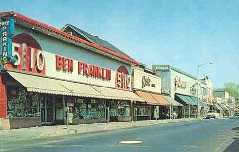 Ben Franklin 5 And 10 We Had One In Kearny Nj Pompton Lakes Vintage Mall Nj Beaches
