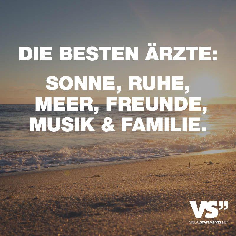 Besten Arzte Sonne Ruhe Meer Freunde Musik Familie