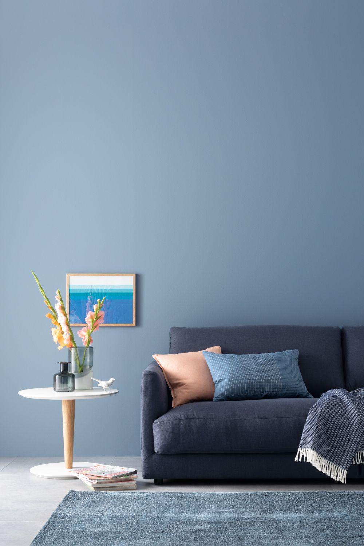 Designfarbe Inspirierendes Horizontblau Nr 22 Schoner Wohnen Farbe Schoner Wohnen Wandfarbe Wandfarbe Wohnzimmer