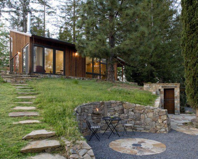 Diseño de jardines,ideas para muros de ensueño. | Sillas, Piedra y ...
