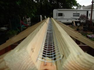 Jteams Chicken Coop In 2020 Roof Repair Diy Ridge Vent Backyard Coop