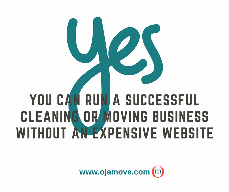 And it's 100% FREE ! | Ojamove.com | Pinterest | Cleaning business ...