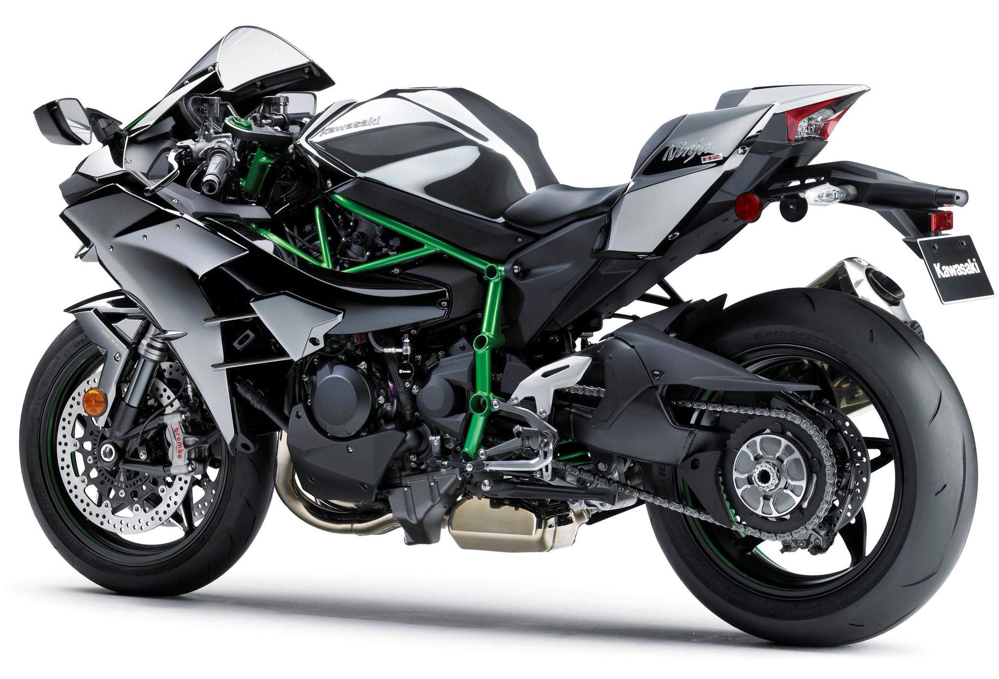Kawasaki Ninja H2 supercharged street bike   Motorcycles, bikes