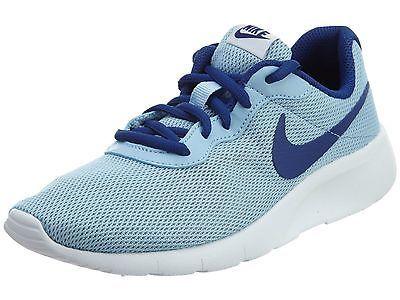 2d48434ef9 Nike Tanjun Gs Big Kids 818384-400 Blue Cap Royal Athletic Shoes Youth Size  5