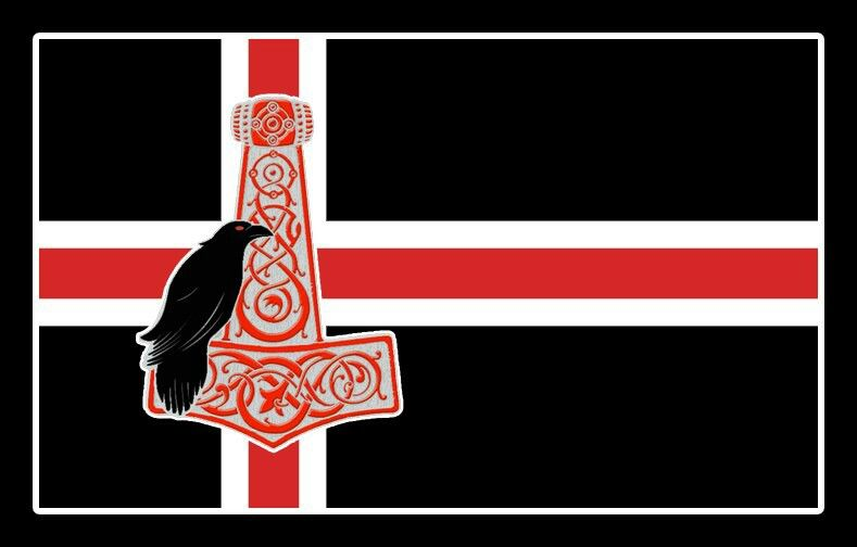Pin By V S Off Beat On Norse Life Norway Flag Viking Art Nordic Vikings
