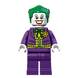 Bagged 71017 ARKHAM ASYLUM JOKER Minifigure Lego The Batman Movie