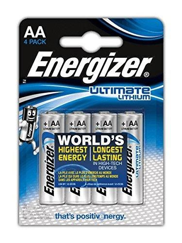 Oferta 7 91 Dto 77 Comprar Ofertas De Energizer Ultimate Lithium Pilas Aa Pack De 4 Barato Mira Las Ofer Energizer Battery Energizer Lithium Battery