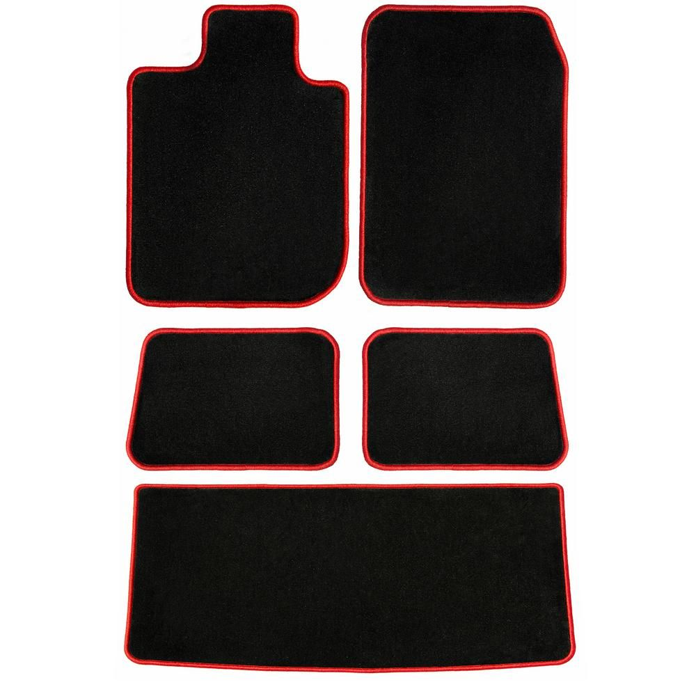 Ggbailey Bmw X5 Black Classic 5 Piece Carpet Car Mats Floor Mats
