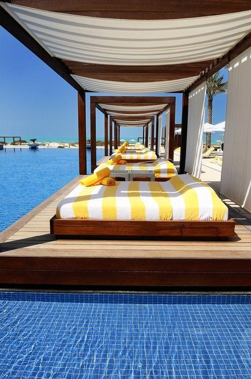 Waterside relaxation