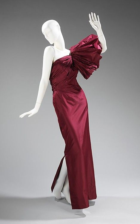 Evening Dress Madame Grès, 1979 The Metropolitan Museum of Art