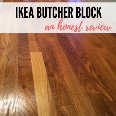 A Review Ikea Butcher Block Countertops And Waterlox Finish With