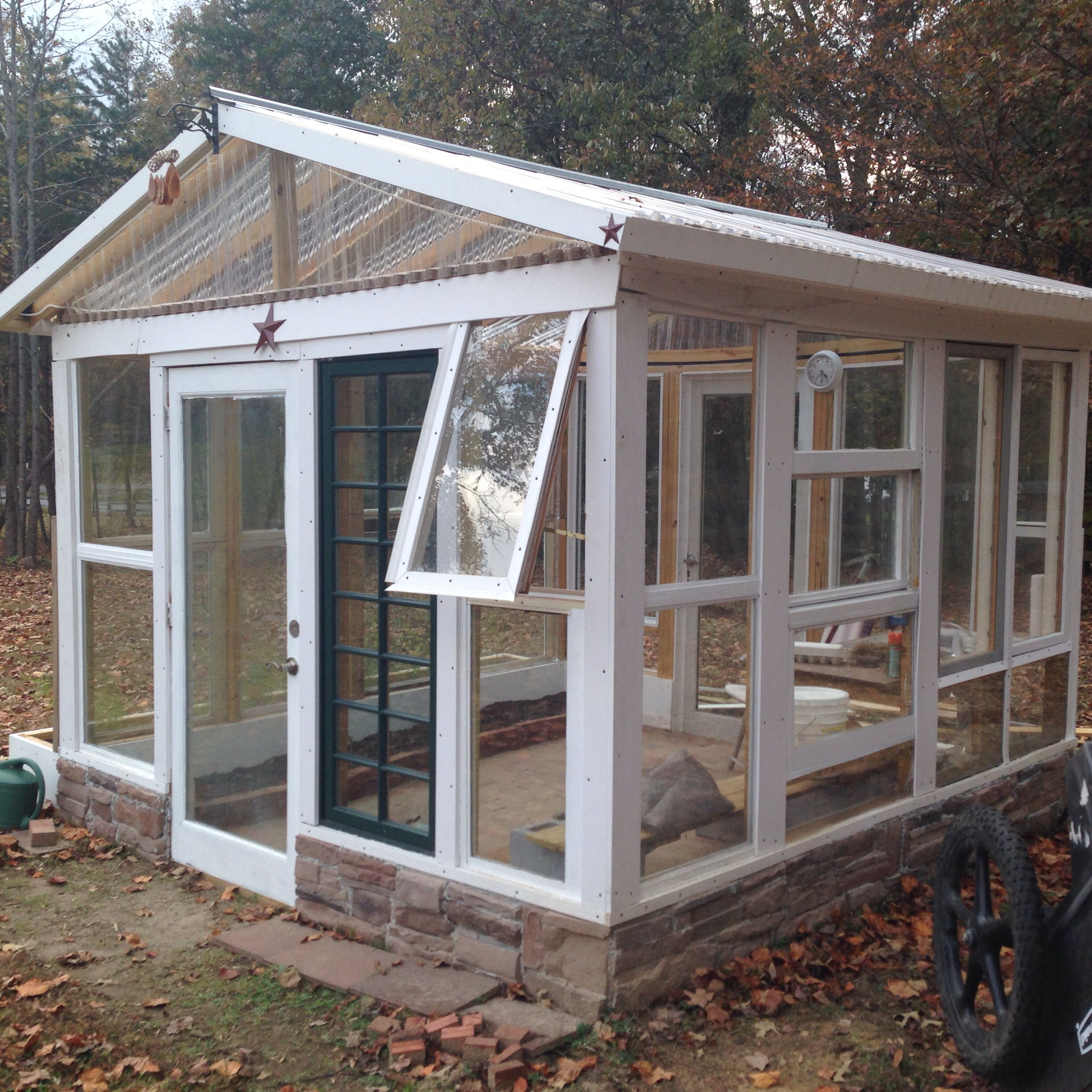 Pin by PeggyJohn Young on Reused windows greenhouse